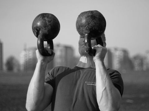 Grip strength II – bottom up press