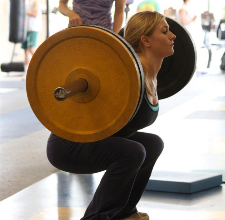 Using squats to predict lower body training loads