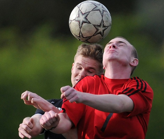 Threshold for brain injury in soccer