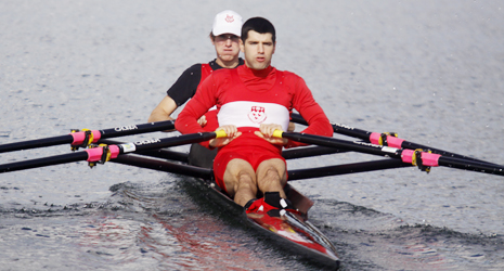 Post-activation potentiation during warm-up and subsequent rowing performance