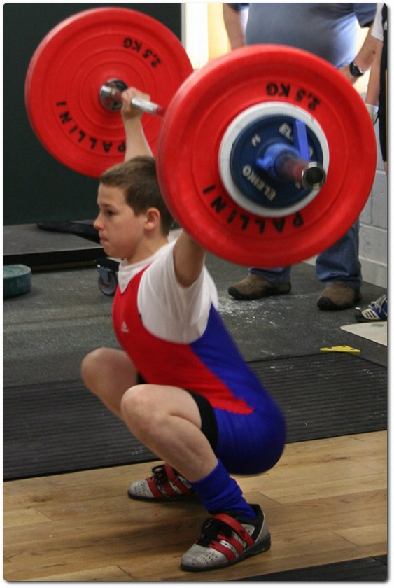 Strength training recommendations in front & back squat for elite youth soccer players