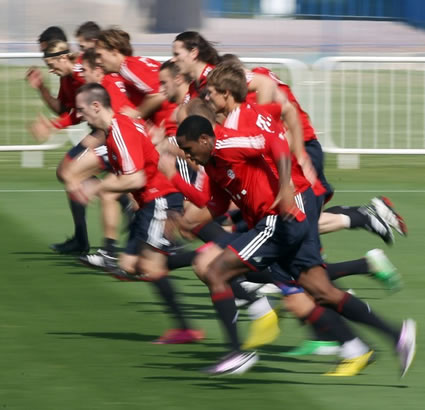 Targeted speed-endurance training in-season improves repeated high intensity performance ability in soccer players