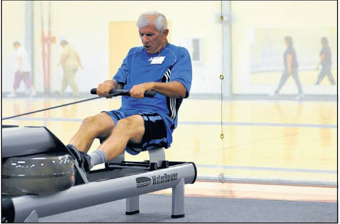 High intensity cardiac rehabilitation