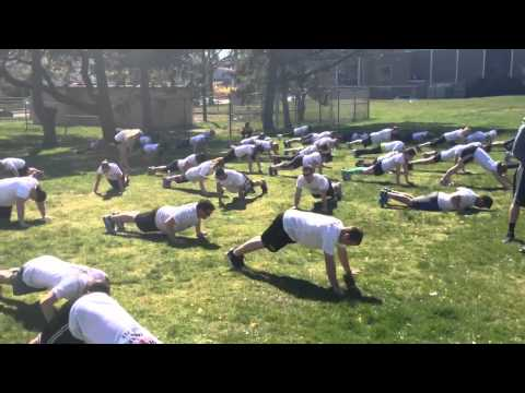 Neuromuscular warm ups in the military