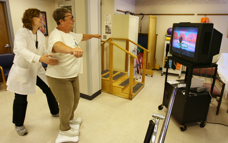 The use of a Nintendo Wii for stroke rehab