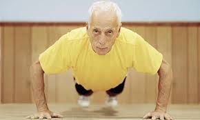 Does exercise improve the health status of the elderly